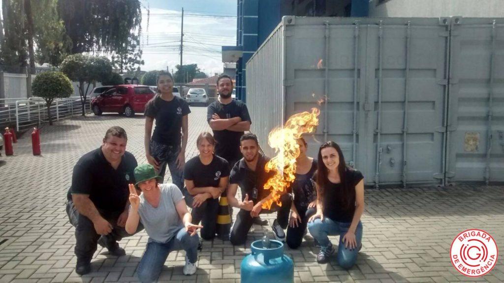 Treinamento de Brigada de Incêndio – IGI